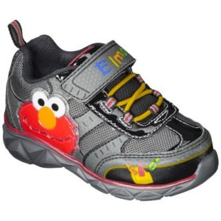 Toddler Boys Sesame Street Elmo Sneakers   Black 9