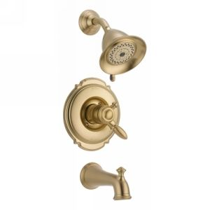 Delta Faucet T17455 CZ Victorian Single Handle Tub & Shower Faucet Trim
