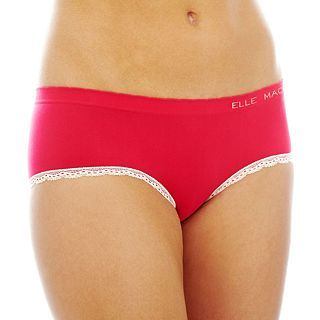THE BODY Elle Macpherson Intimates Seamless Hipster Panties, Brite Rose Slvr Pe