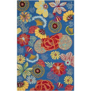 Safavieh Four Seasons Blue / Red Rug FRS470A