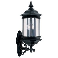 Sea Gull Lighting SEA 8839 12 Hill Gate Three Light Hill Gate Outdoor Wall Lante