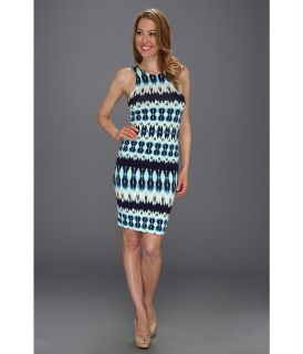 Karen Kane Reflection Print Sleeveless Dress Womens Dress (Multi)