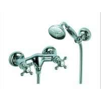 Fima Frattini S5085BR Elizabeth Wall Mounted Shower Faucet With Hand Shower Set