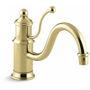 Kohler K 168 PB Antique Single Handle Kitchen Faucet
