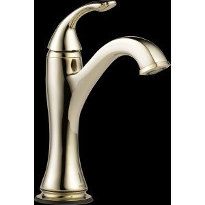 Delta Faucet 65985LF PN Charlotte Single Handle Lavatory with SmartTouchPlus