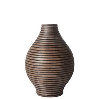 Columbo Teardrop Short Vase Brown   7 by Torre & Tagus