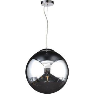 PLC Lighting PLC 14855 PC Mercury 1 Light Pendant Mercury Collection
