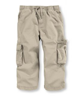 Infants And Toddlers Cotton Twill Cargo Pants Infant