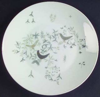 Rosenthal   Continental Birds On Trees Salad Plate, Fine China Dinnerware   Clas