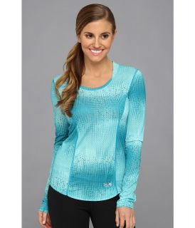 Mountain Hardwear Wicked Electric L/S T Womens Long Sleeve Pullover (Blue)