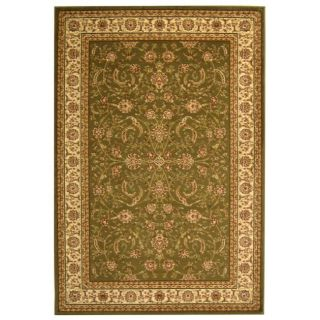 Modern Lyndhurst Collection Sage/ivory Rug (4 X 6)