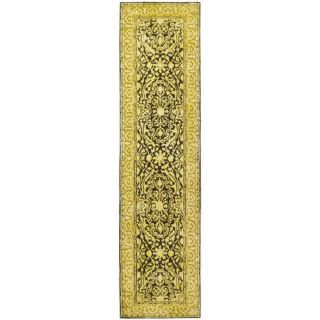 Safavieh Silk Road Brown/Ivory Rug SKR213F Rug Size Runner 26 x 10