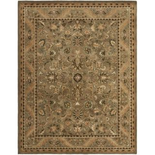 Safavieh Antiquities Majesty Sage/Gold Rug AT52A Rug Size 83 x 11