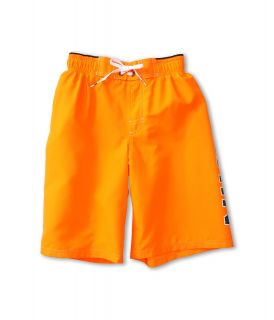 Nike Kids Core Logo Volley Short Boys Swimwear (Orange)