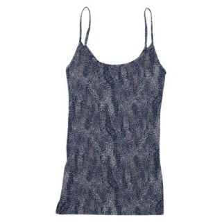 JKY by Jockey Womens Microfiber Stretch Cami 5540   Navy Dot Wave M