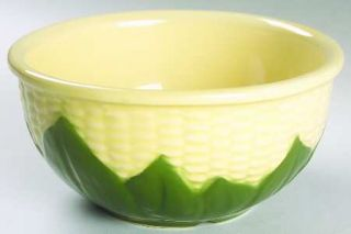 Shawnee Corn King 6 Mixing Bowl, Fine China Dinnerware   Lighter Shuck & Dark Y