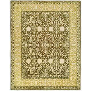 Safavieh Silk Road Brown/Ivory Rug SKR213F Rug Size 83 x 11