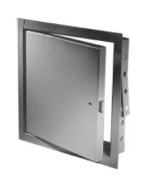 Acudor FB5060 16 x 16 SS RCPC NonInsulated Fire Rated Stainless Steel Access Panel 16 x 16 with Rim Cylinder Lock