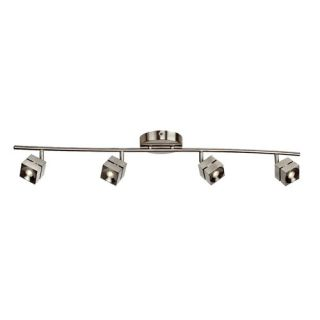 AFX Cantrell 4 Light Linear Fixed Rail with 4 Heads Fixed Track CARF4200LEDRB