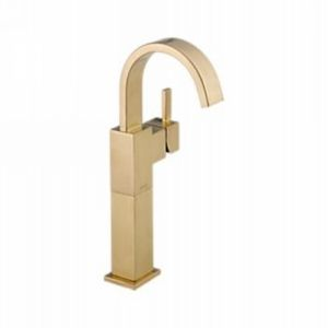 Delta Faucet 753LF CZ Vero Single Handle Lavatory Faucet with Riser