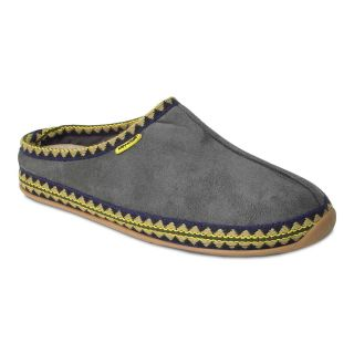 Deer Stags Wherever Mens Slippers, Grey