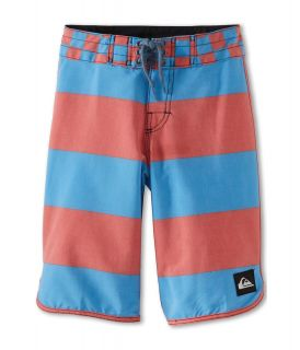 Quiksilver Kids Brigg Scallop Boardshort Boys Swimwear (Multi)
