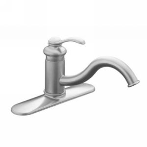 Kohler K 12171 G Fairfax Single Handle Kitchen Faucet