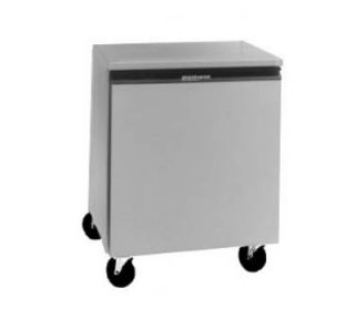 Delfield 27 in Undercounter Freezer w/ 1 Door, 5.7 cu ft, Aluminum Top, 220/1 V