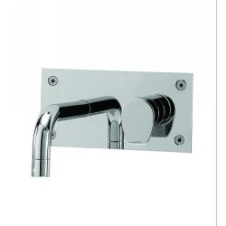 Whitehaus G9914A PC Gyro Single Lever Wall Mount Lavatory Faucet