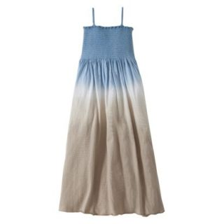 Burts Bees Baby Toddler Girls Dip Dye Beach Dress   Dusk Blue 3T