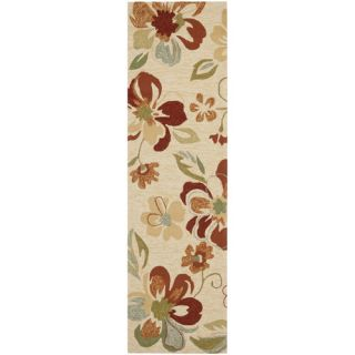Safavieh Four Seasons Beige / Red Rug FRS226A Rug Size Runner 23 x 8