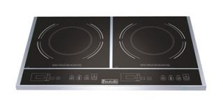 Eurodib Double Countertop Induction Range, 120 V