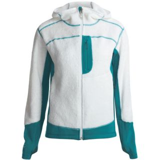 Mountain Hardwear Monkey Lite Fleece Jacket   Polartec(R)  Thermal Pro(R) (For Women)   CASPER/DEEP TURQUOISE (M )