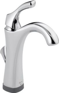 Delta 592TDST Bathroom Faucet, Addison SingleHandle Centerset w/ Touch20 Technology Chrome