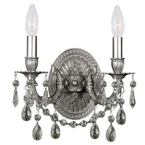 Crystorama Lighting CRY 30312 PW Hot Deal Wall Sconce