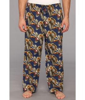 Tommy Bahama Big Tall Lounge Pant Maui Tropical Mens Pajama (Blue)