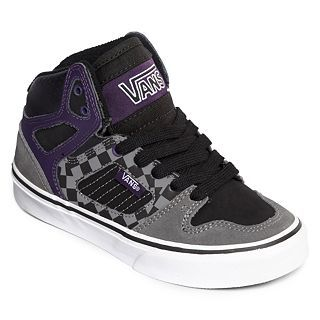 Vans Allred Boys Casual Shoes, Purple/Black/Grey, Boys