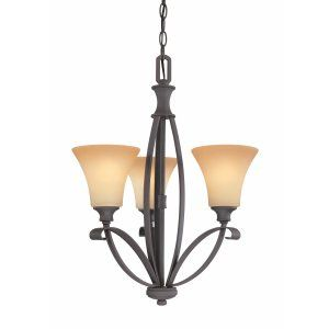 Thomas Lighting THO M224363 Magnolia Chandelier Painted Bronze 3x100
