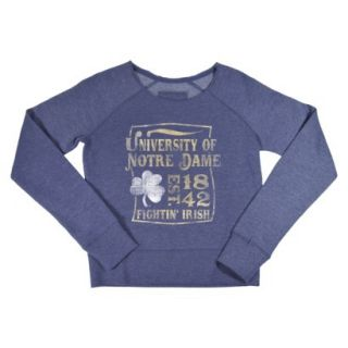 NCAA Kids Notre Dame Fleece   Grey (L)