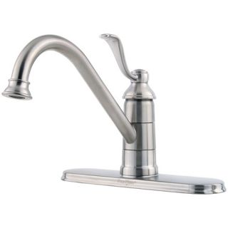 Price Pfister Portland One Handle Centerset Bar Kitchen Faucet GT34 1P Finish