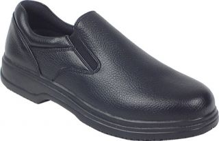 Mens Deer Stags Manager   Black Slip on Shoes