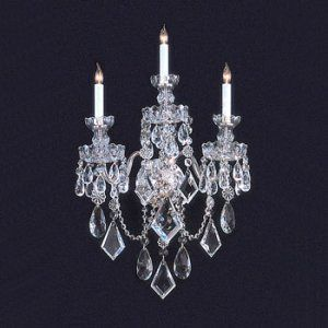 Crystorama Lighting CRY 1043 PB CL MWP Traditional Crystal Crystal Basket Clear