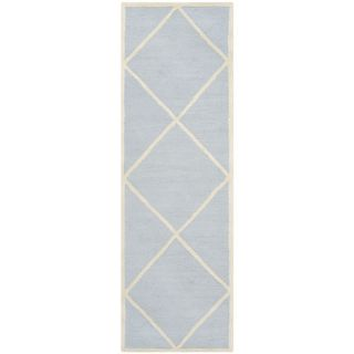 Safavieh Cambridge Light Blue / Ivory Rug CAM136A 2 / CAM136A 28 Rug Size Ru