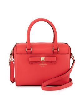 holly street ashton satchel bag, geranium   kate spade new york