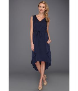 Kenneth Cole New York Gracey Dress Womens Dress (Blue)