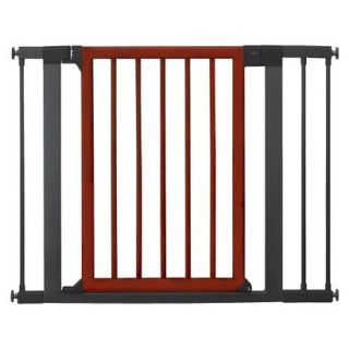 Munchkin Deco Wood and Steel Designer Gate   Safety Gate