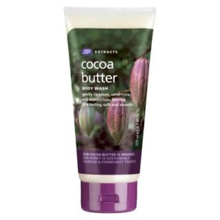 Boots Extracts Cocoa Butter Body Wash   6.7 oz