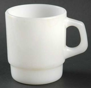 Anchor Hocking Anchorwhite  Mug   Fire King,White Ovenware Only