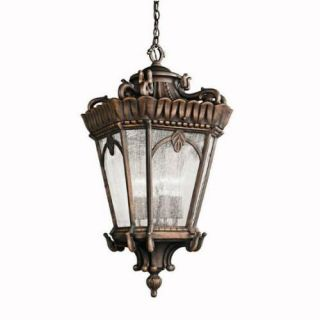 Kichler 9564LD Outdoor Light, European Pendant 4 Light Fixture Londonderry