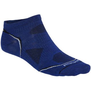 SmartWool PhD Multisport Micro Socks   Merino Wool  Lightweight (For Men)   ROYAL (L )